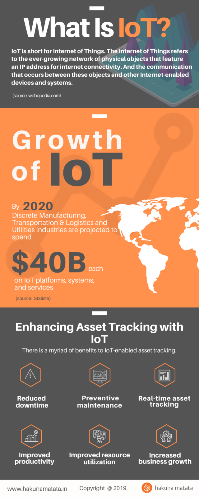 What Is IoT? infographics