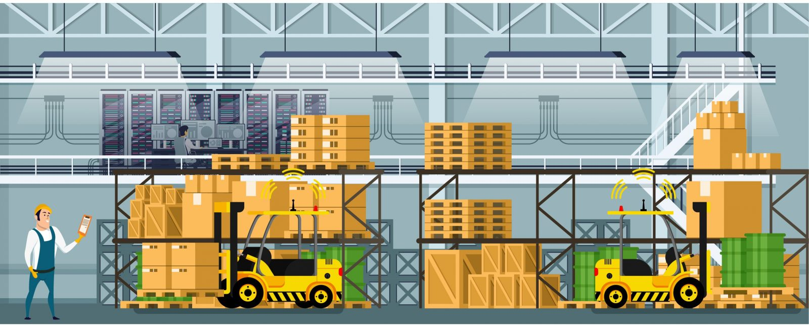 Explore how inventory and asset tracking with RFID improves manufacturing process.