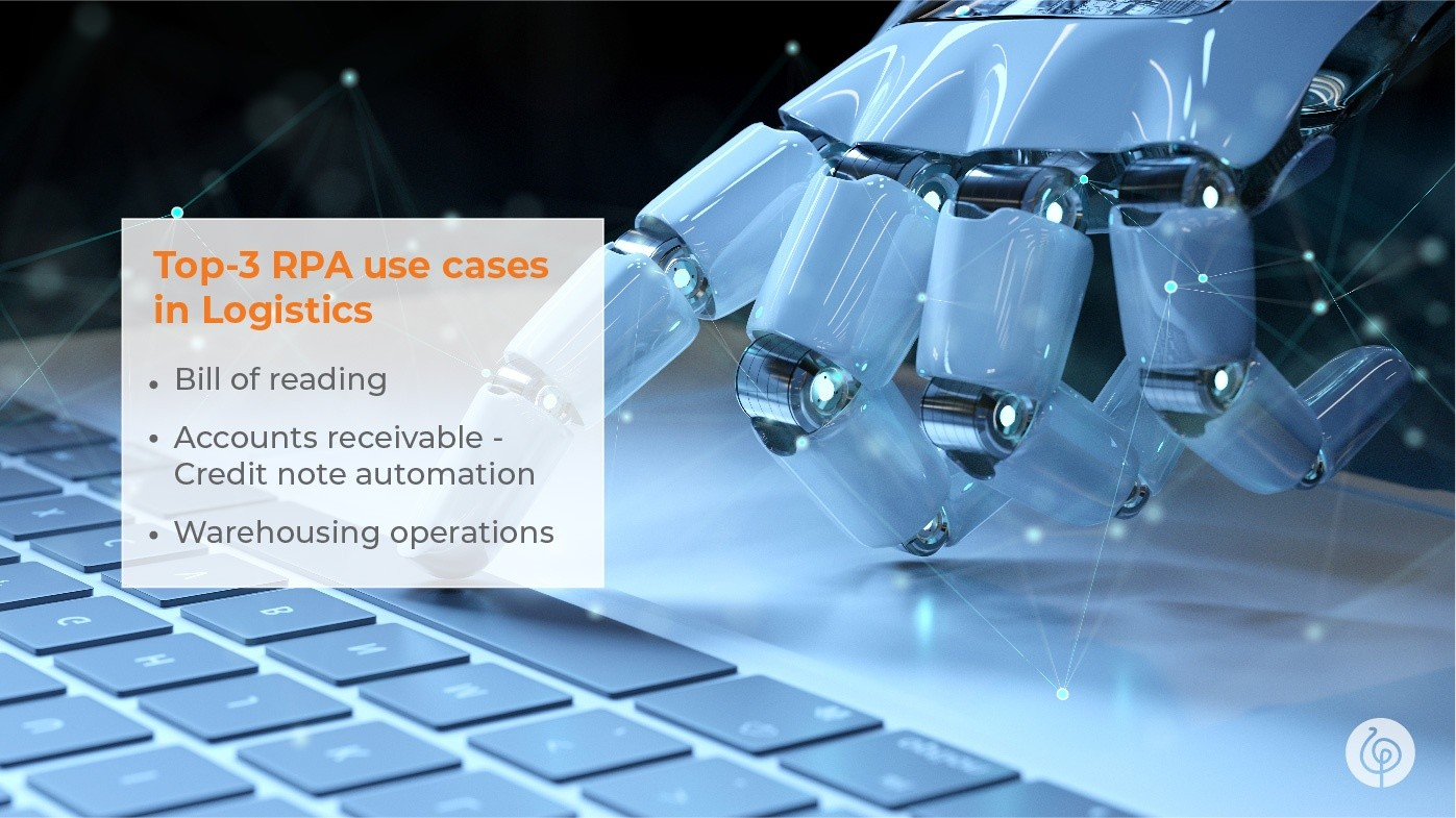 3 Interesting RPA Use Cases in Logistics